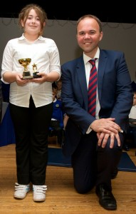 Academic Pupil of the Year - Lisa Coppard