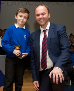 Non-Academic Pupil of the Year - Harrison Coates
