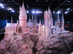 Hogwarts in all its to-scale glory