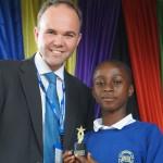 Christopher Opoku Winner Year 6 Academic Achievement