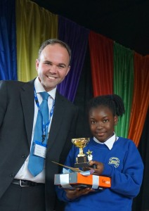 Paris McLean Pupil of the Year 2016 Attitude and Effort