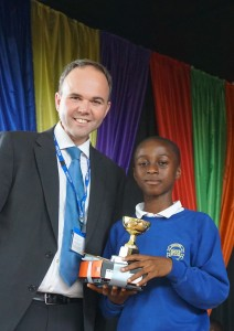 Christopher Opoku Pupil of the Year 2016 Academic Achievement